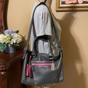 COACH Legacy Molly Pebbled Leather Satchel 21140